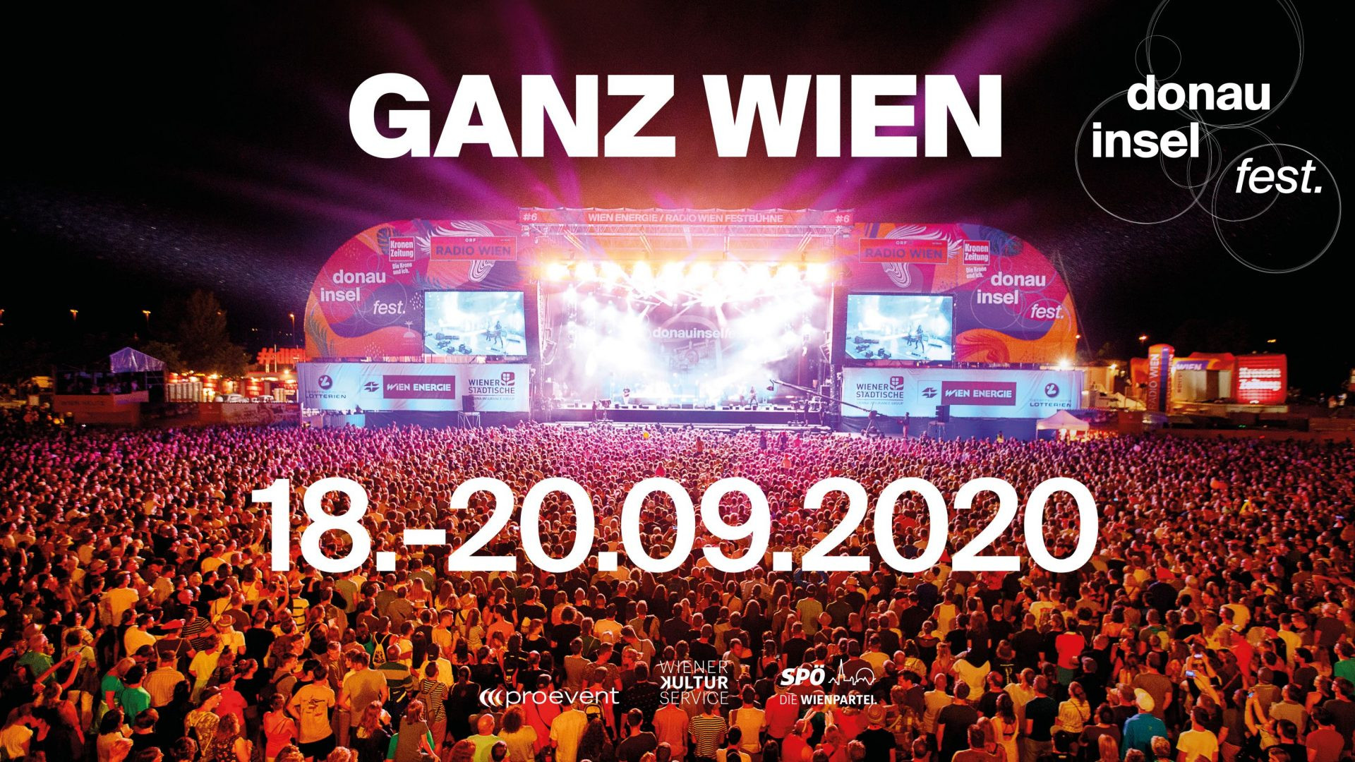 Donauinselfest 2020 Donauinsel Wien 18 09 2020 Volume Events