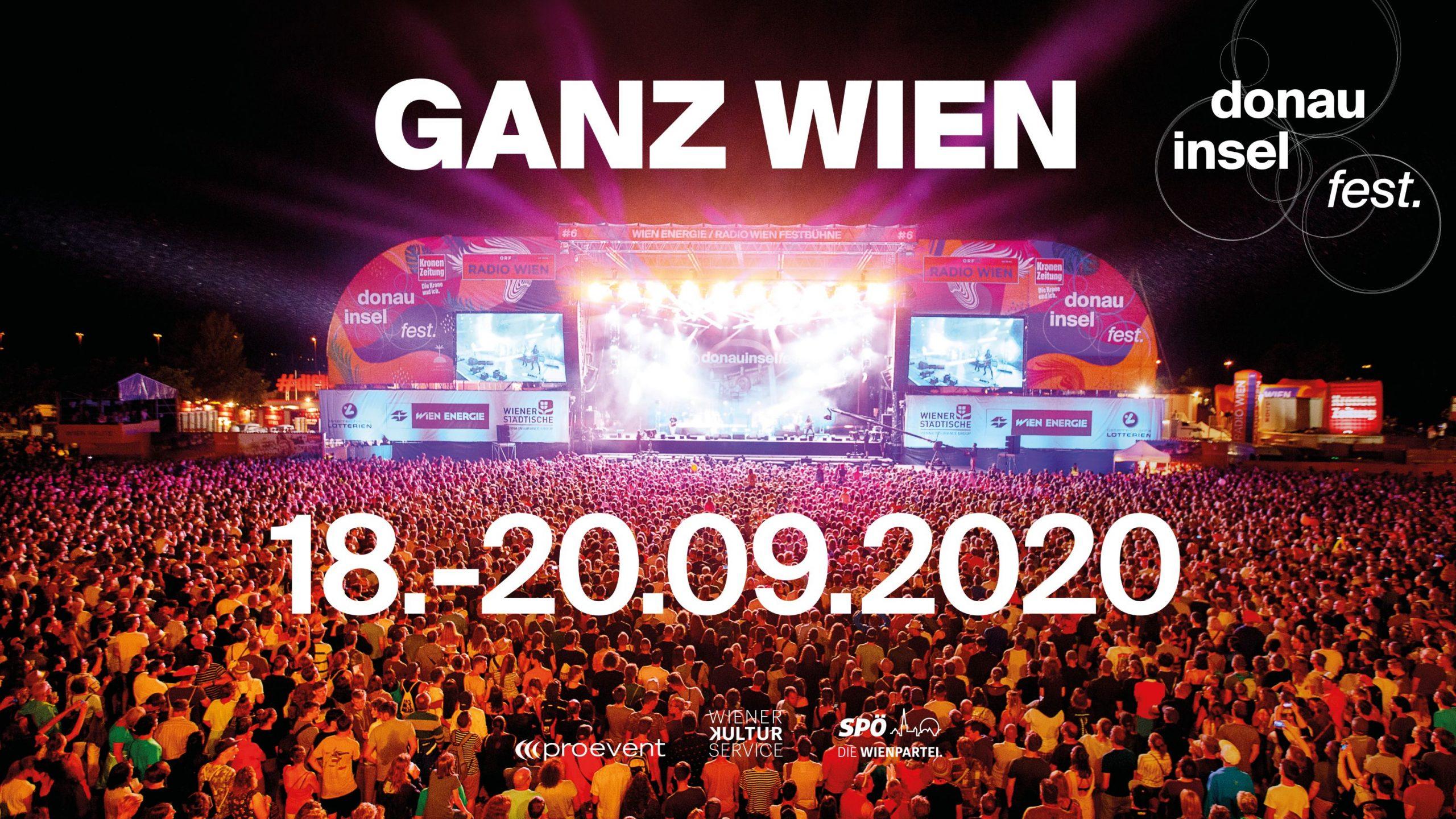 Donauinselfest 2020 am 26. June 2020 @ Donauinsel.