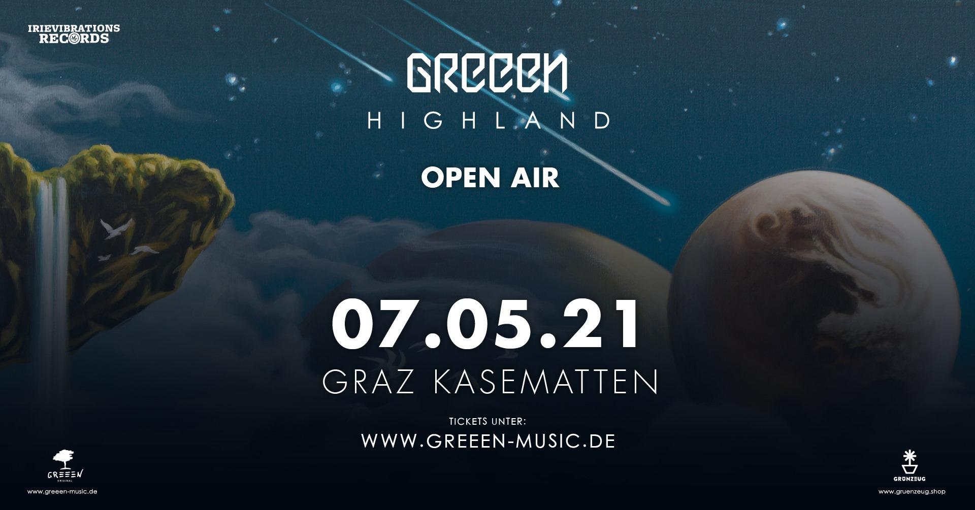 GReeeN am 7. May 2021 @ Schloßbergbühne Kasematten.