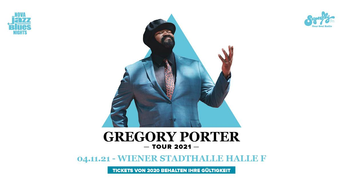 Gregory Porter am 11. November 2020 @ Wiener Stadthalle - Halle F.