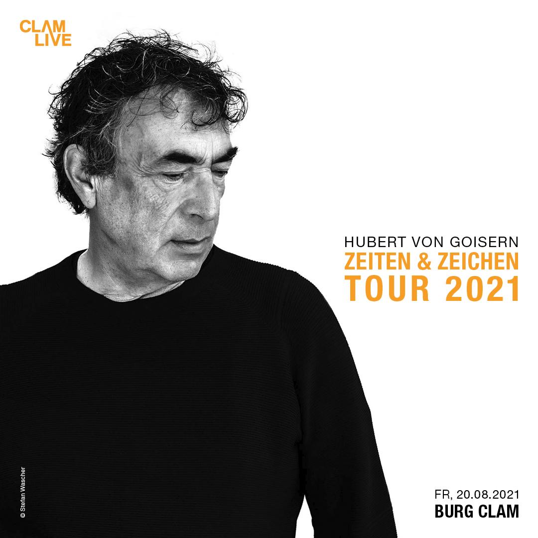 Hubert von Goisern am 20. August 2021 @ Burg Clam.
