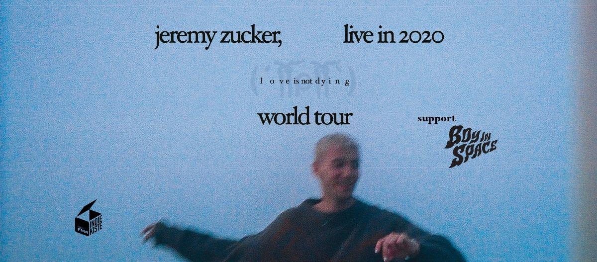 Jeremy Zucker am 9. May 2020 @ WUK.