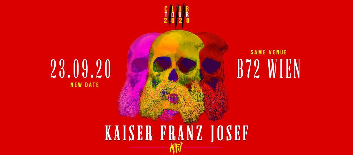 Kaiser Franz Josef am 27. April 2020 @ B72.