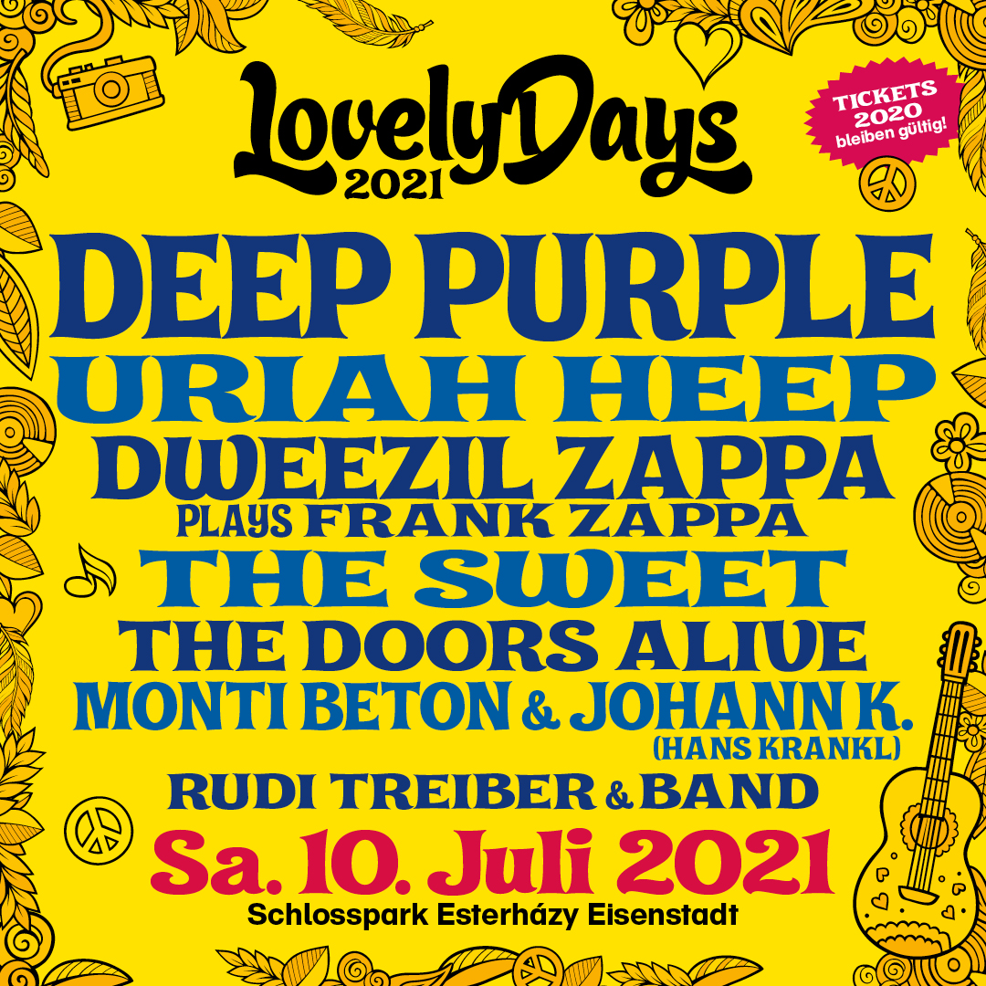 Lovely Days 2021 am 10. July 2021 @ Schlosspark, Schloss Esterhazy.