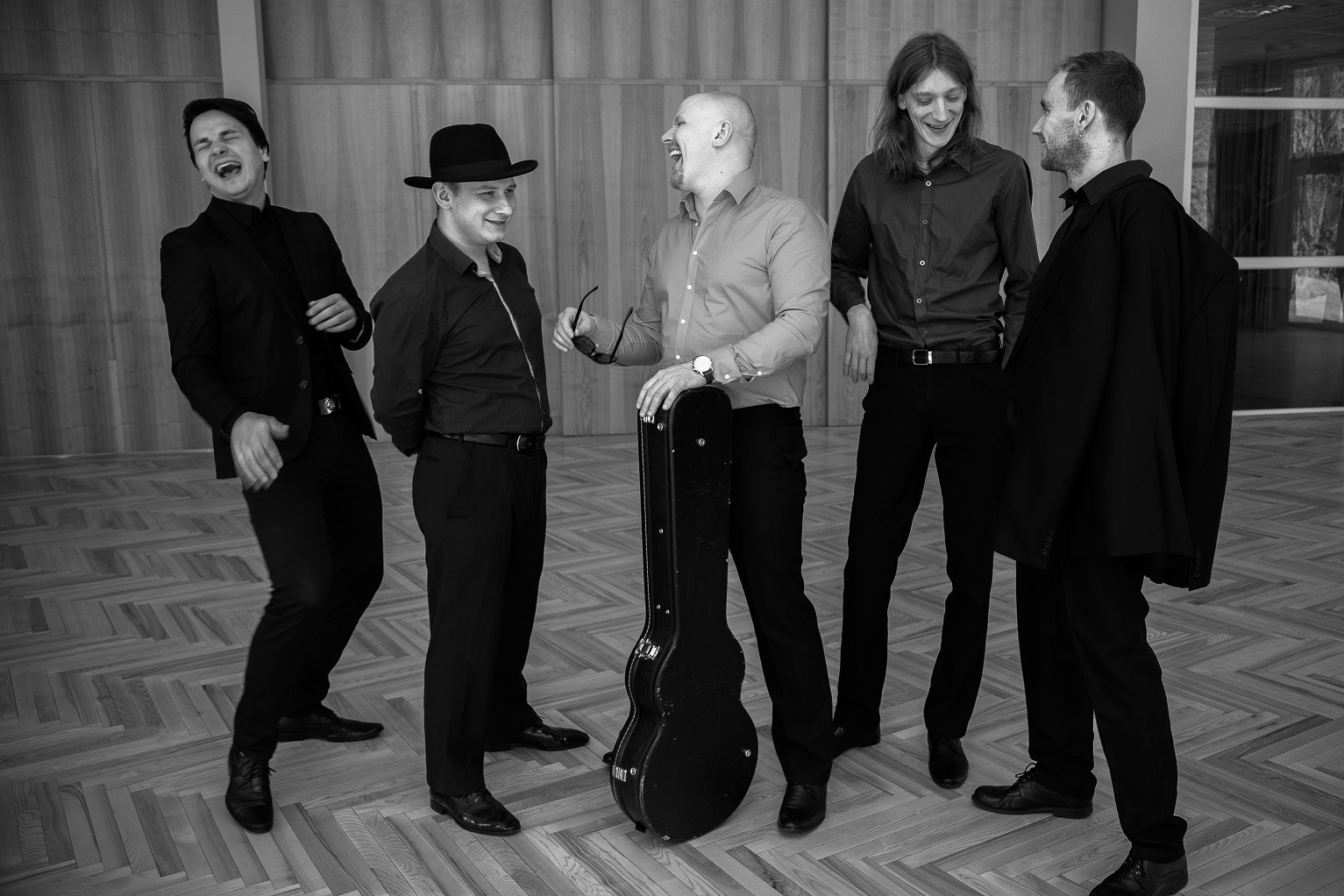Latvian Blues Band am 7. September 2020 @ Rockhouse Salzburg.
