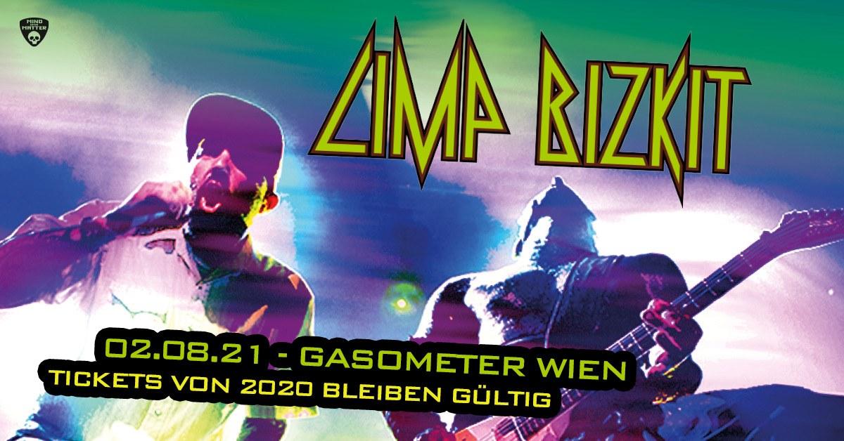 Limp Bizkit am 13. August 2020 @ Planet.tt Bank Austria Halle im Gasometer.