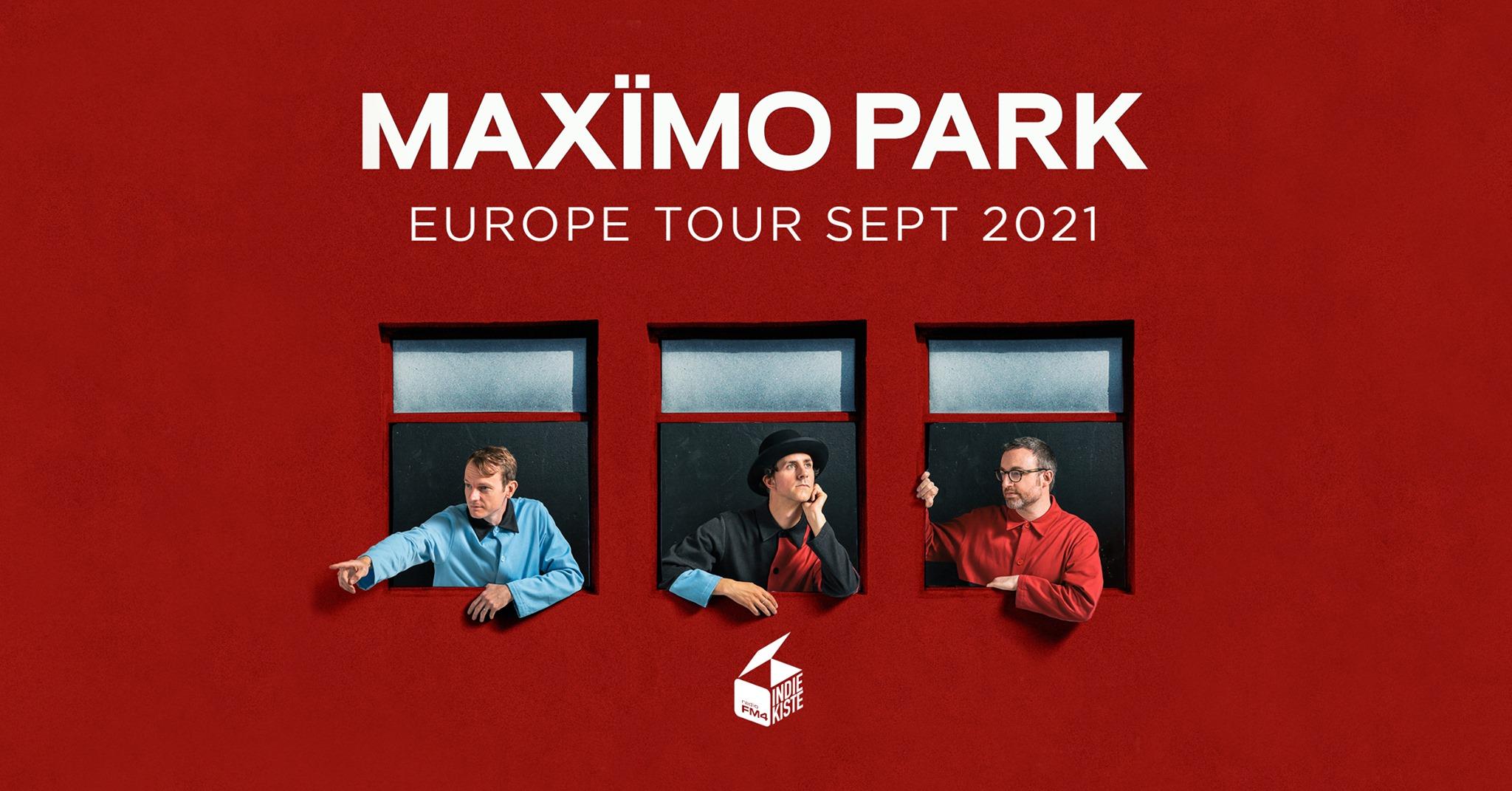 Maximo Park am 19. September 2021 @ Flex - Halle.