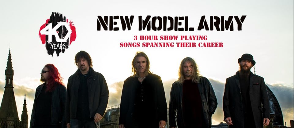 New Model Army am 8. December 2020 @ WUK.