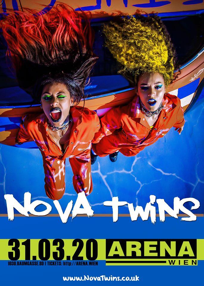Nova Twins am 31. March 2020 @ Arena Wien - Dreiraum.