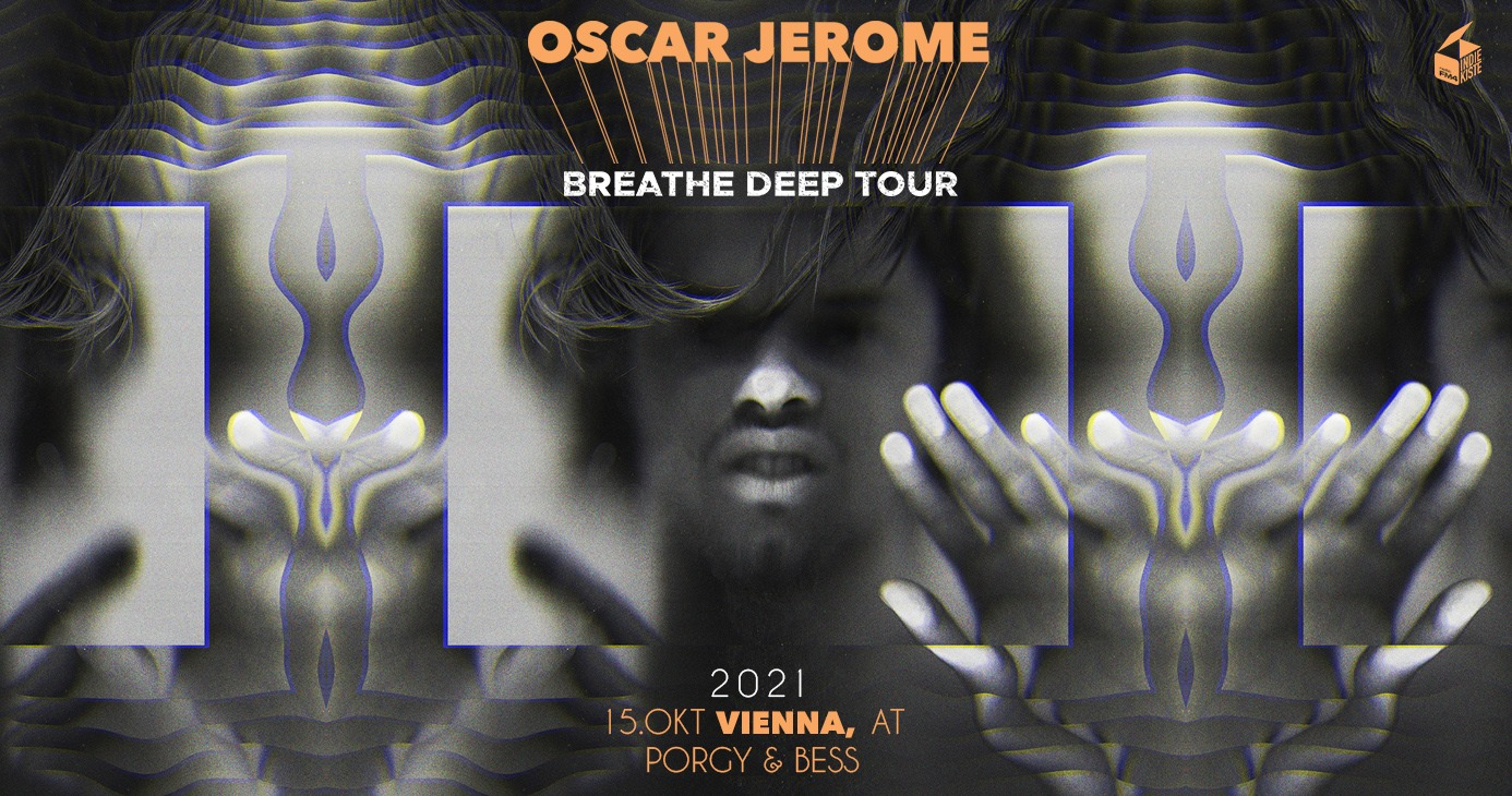 Oscar Jerome am 9. November 2020 @ Porgy & Bess.