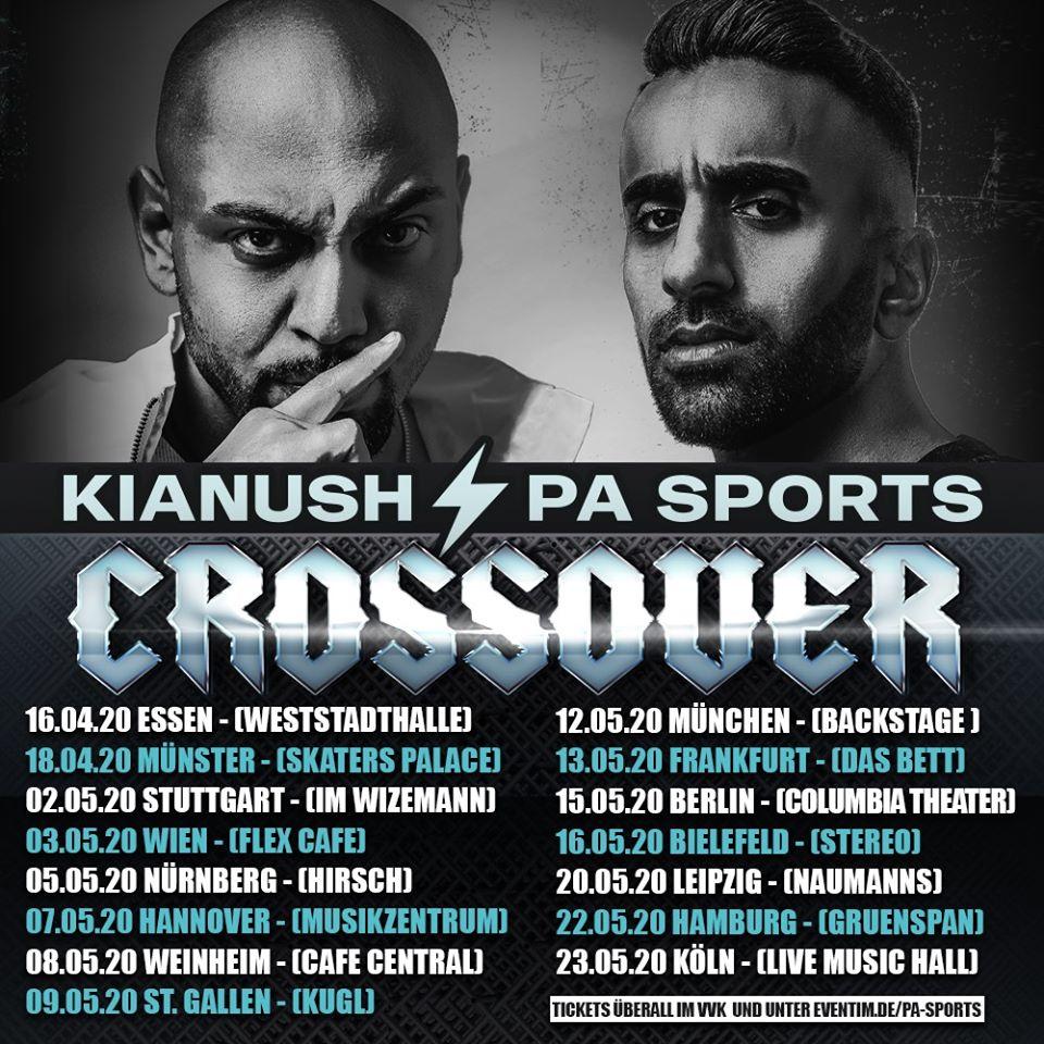 PA Sports & Kianush am 3. May 2020 @ Flex - Halle.