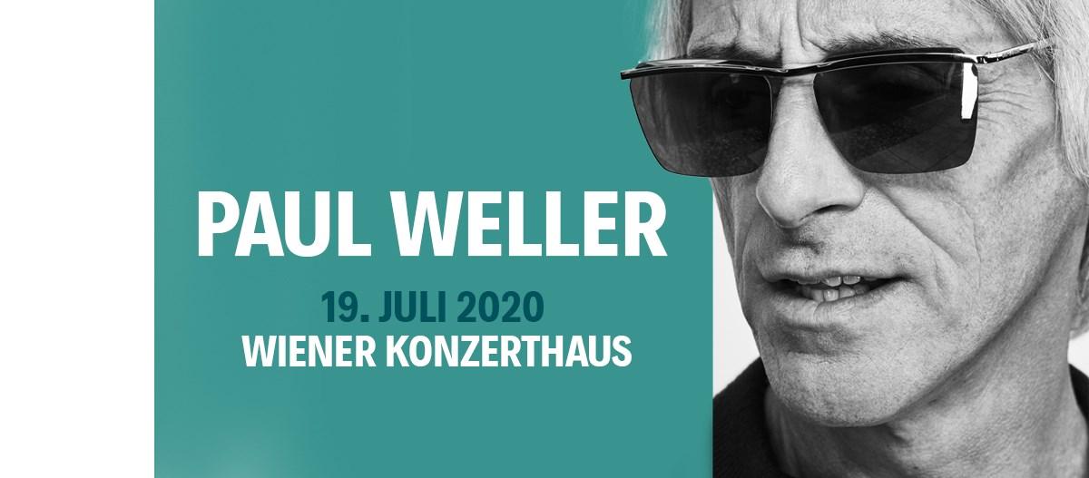 Paul Weller am 19. July 2020 @ Konzerthaus Wien.