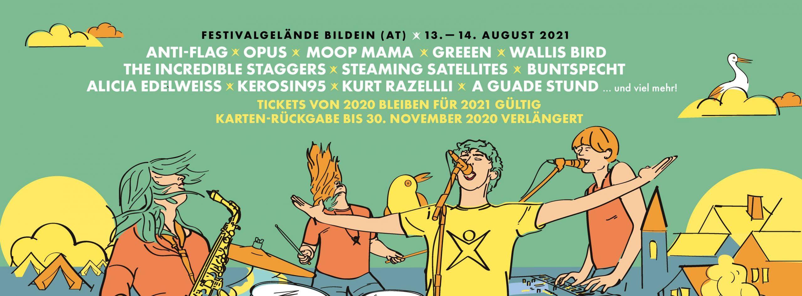 Picture On Festival 2021 am 13. August 2021 @ Open Air Festivalgelände Bildein.