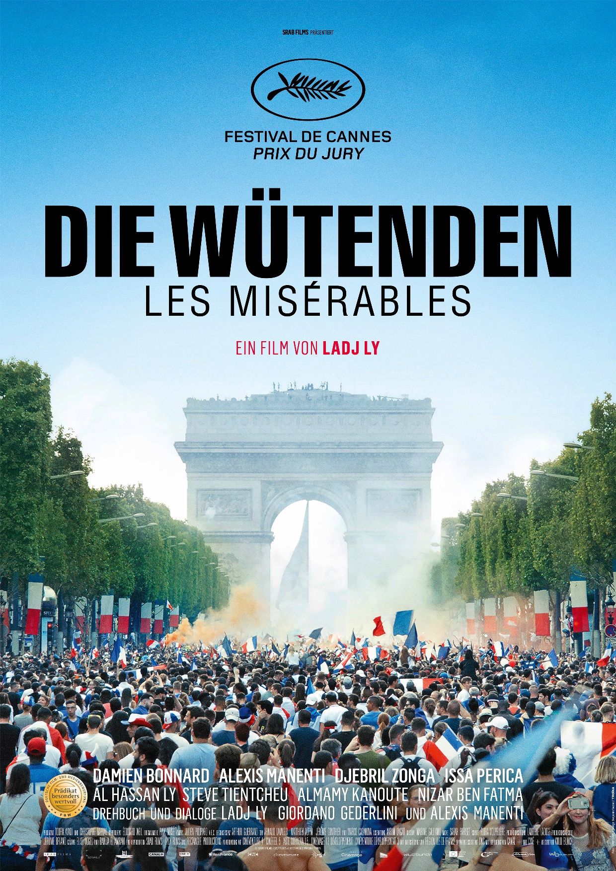 Filmpremiere: DIE WÜTENDEN - LES MISÉRABLES am 23. January 2020 @ Apollo - Das Kino.