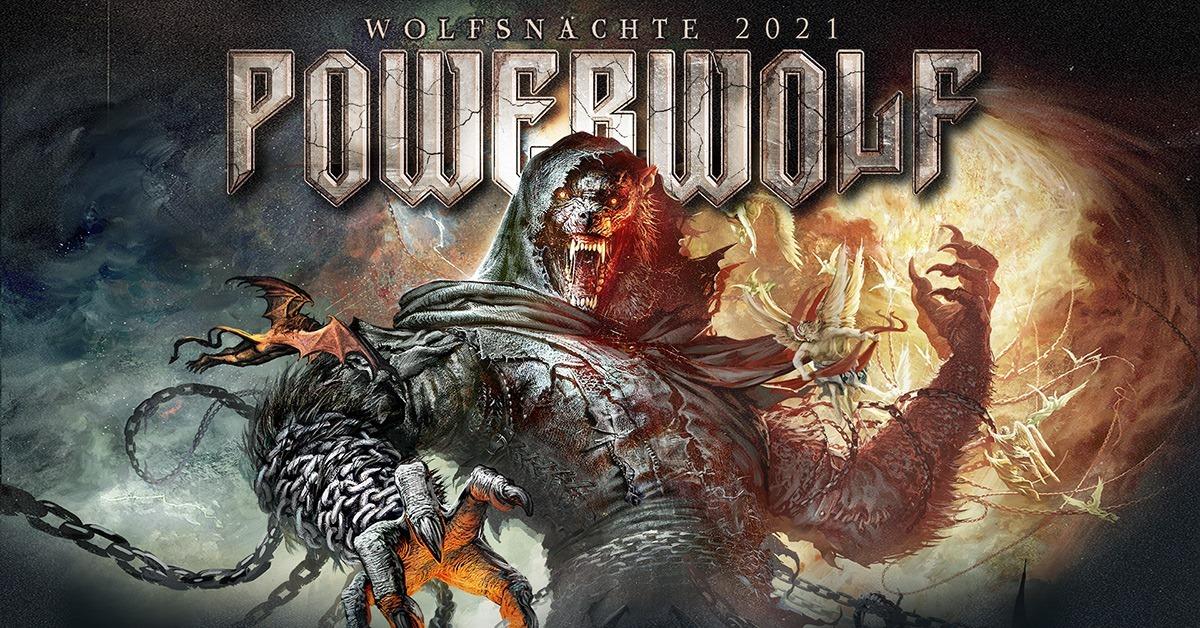 Powerwolf am 21. October 2021 @ Planet.tt Bank Austria Halle im Gasometer.