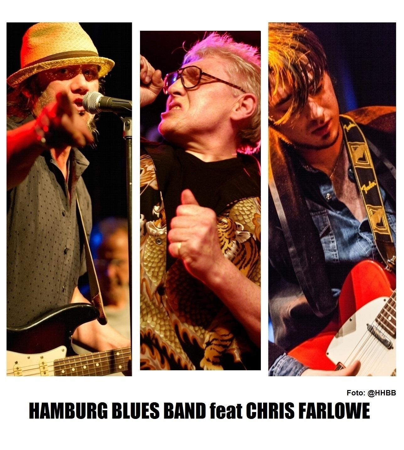 The HAMBURG BLUES BAND feat. Chris Farlowe & Krissy Matthews am 7. November 2021 @ Reigen.