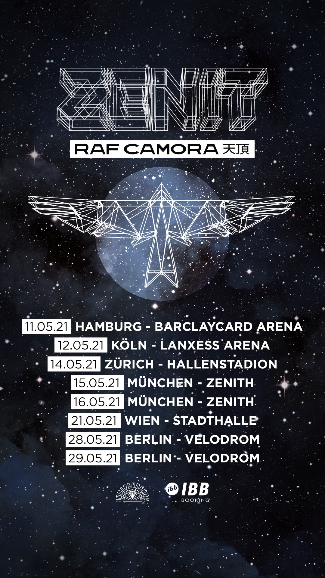 RAF Camora am 8. October 2020 @ Wiener Stadthalle - Halle D.