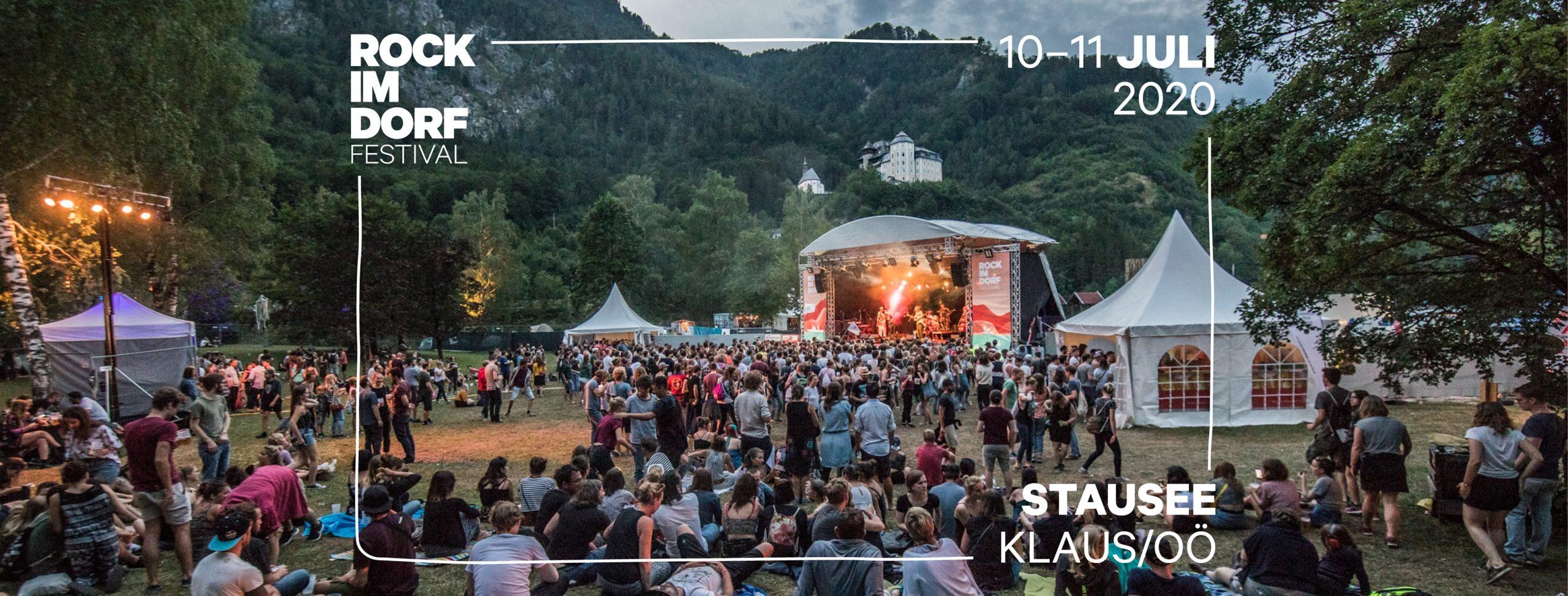 Rock im Dorf 2020 am 10. July 2020 @ Stausee Klaus.