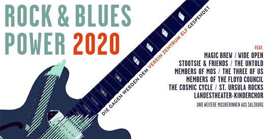 Rock & Blues Power 2020 am 6. March 2020 @ Rockhouse Salzburg - Saal.