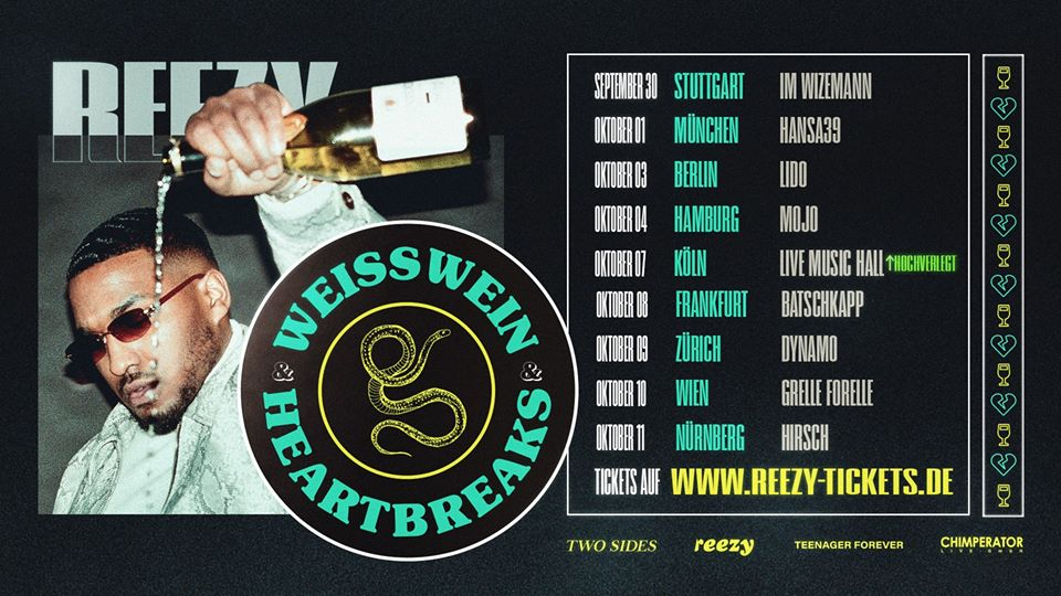 Reezy am 10. October 2020 @ Grelle Forelle.