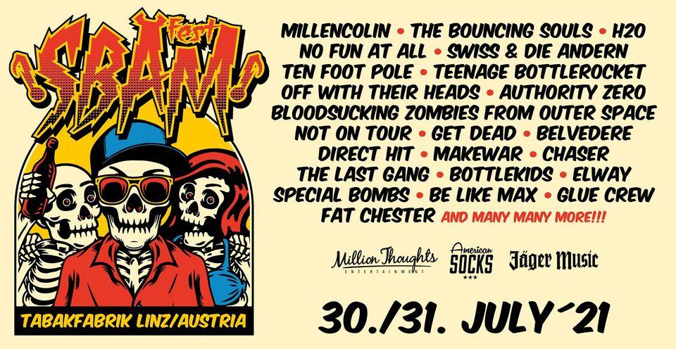 SBÄM Fest am 30. July 2021 @ Tabakfabrik Linz.