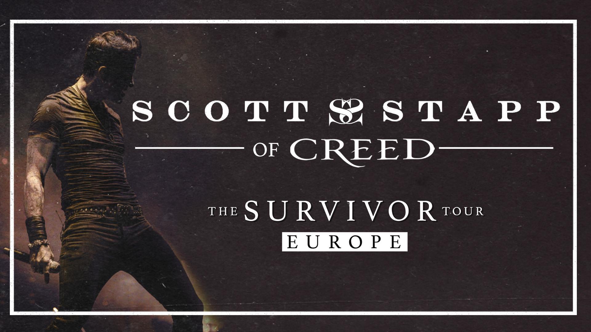 Scott Stapp (of Creed) am 8. November 2020 @ Szene Wien.