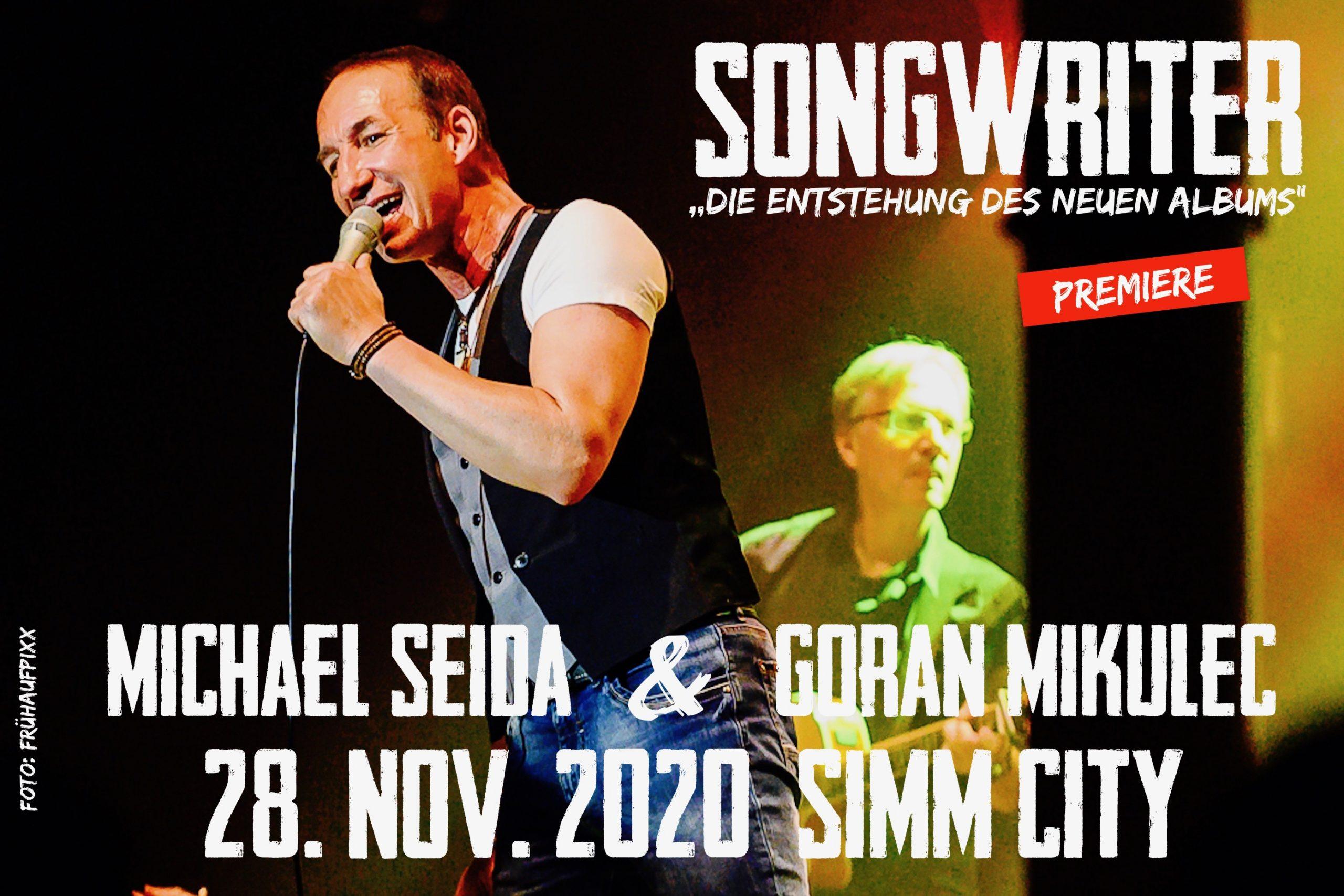 Michael Seida & Goran Mikulec am 28. November 2020 @ Simm City.