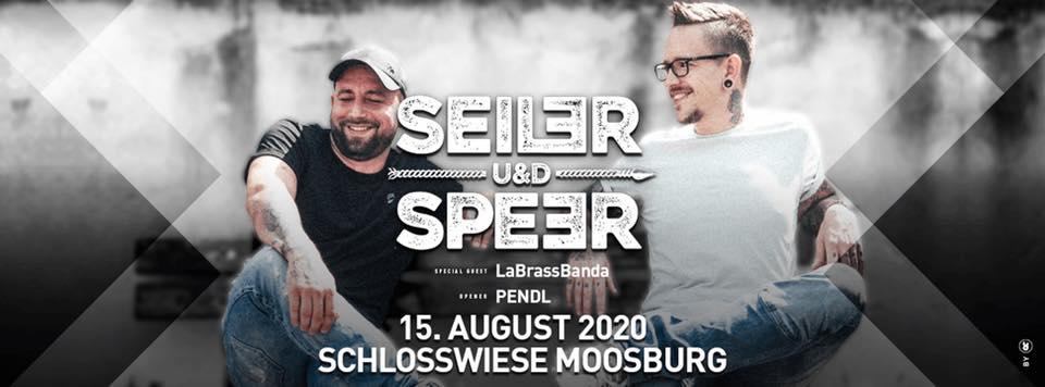 Seiler und Speer am 15. August 2020 @ Schloss Moosburg.