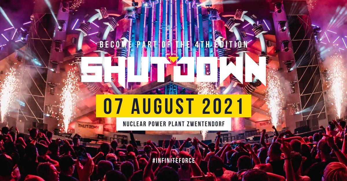 Shutdown Festival 2021 am 7. August 2021 @ AKW Zwentendorf.