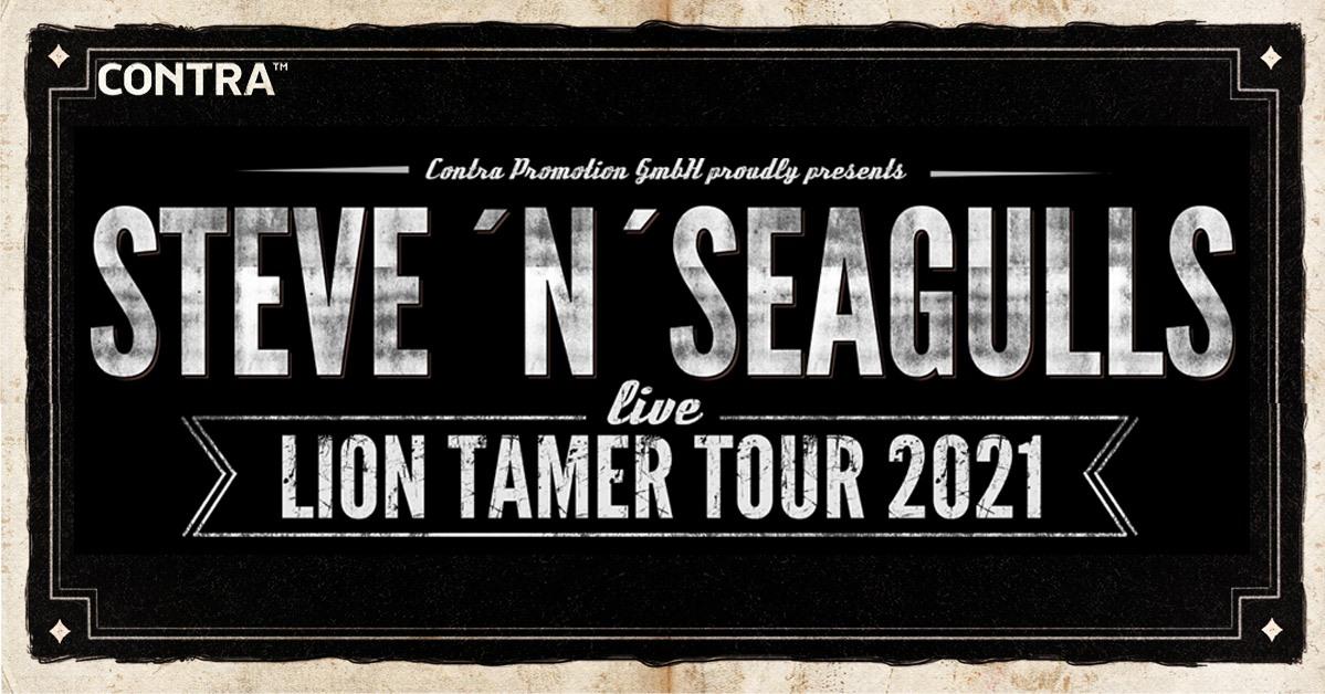 Steve'n'Seagulls am 29. November 2020 @ Flex - Halle.