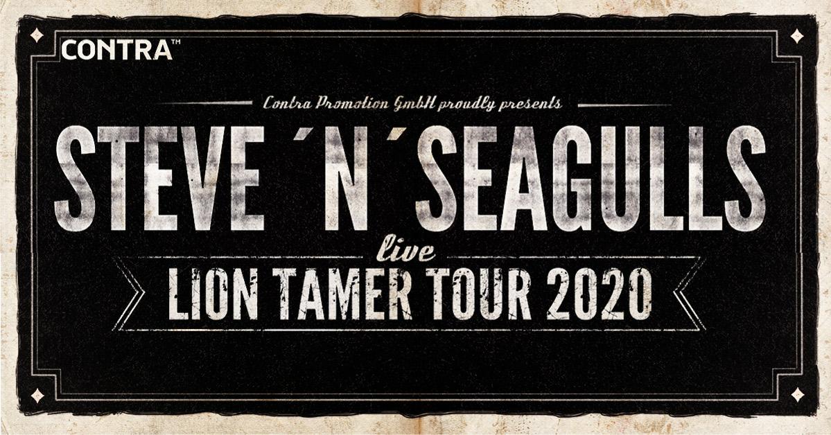 Steve'n'Seagulls am 29. November 2020 @ Flex.