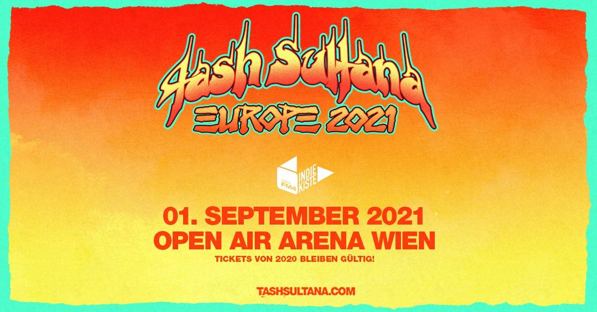 Tash Sultana am 6. September 2020 @ Wiener Stadthalle - Halle D.