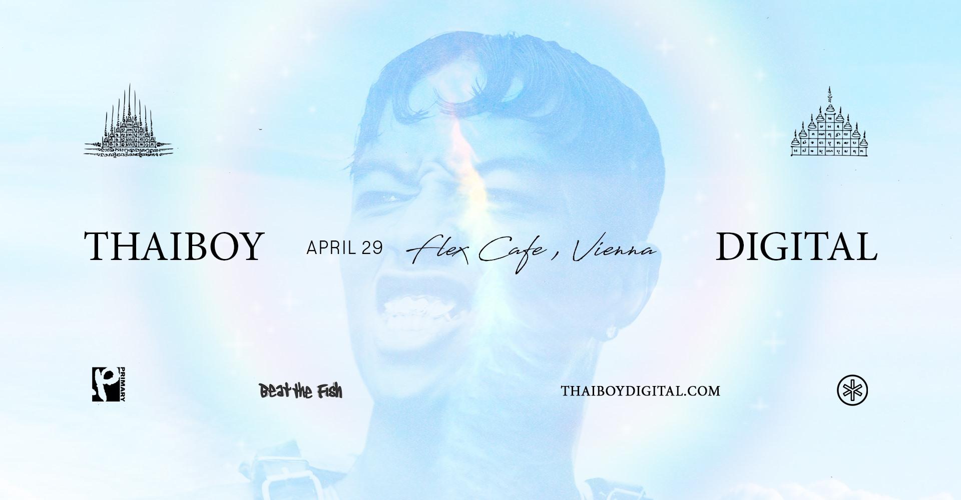 Thaiboy Digital am 29. April 2020 @ Flex Café.