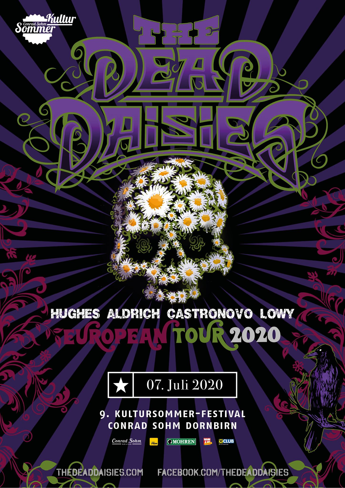 The Dead Daisies am 7. July 2020 @ Conrad Sohm.