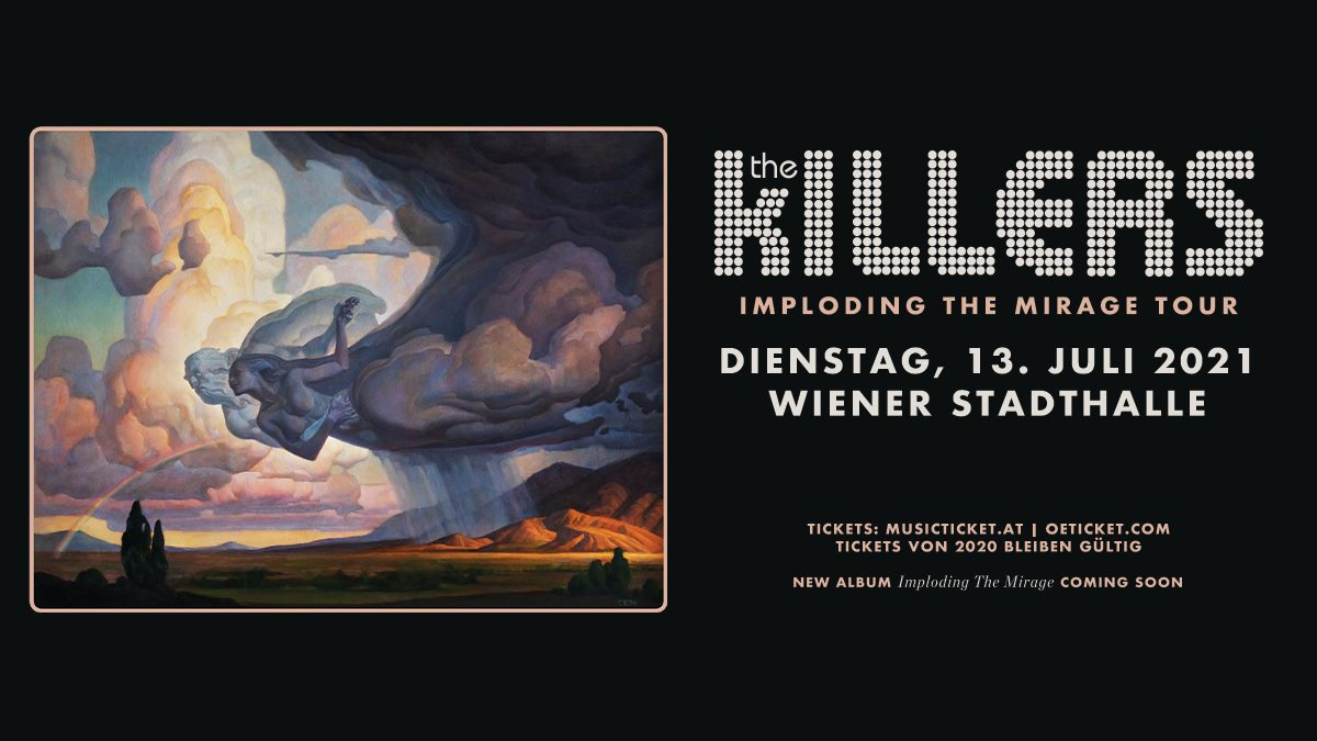 The Killers am 14. July 2020 @ Wiener Stadthalle - Halle D.