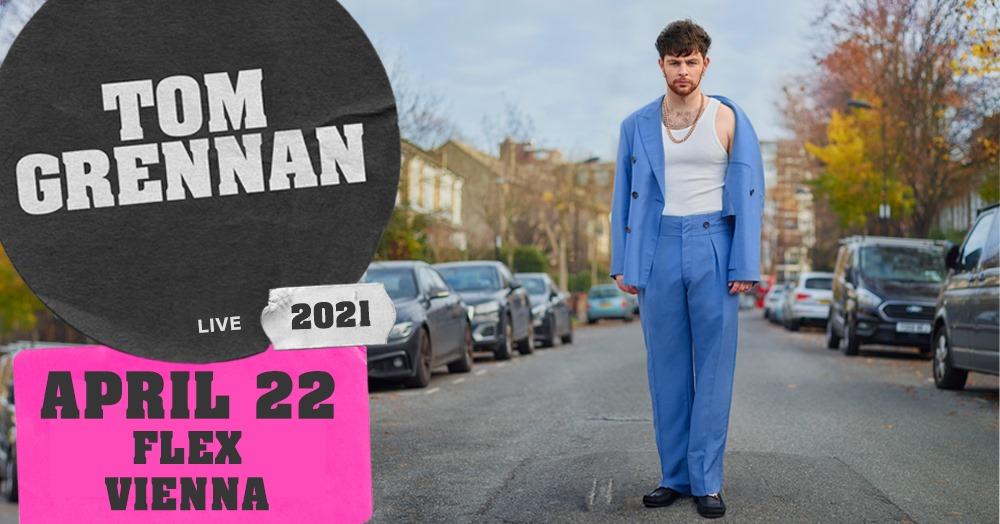 Tom Grennan am 22. April 2021 @ Flex - Halle.