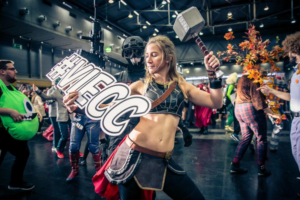 Vienna Comic Con 2021 am 20. November 2021 @ Messe Wien Exhibition & Congress Center.
