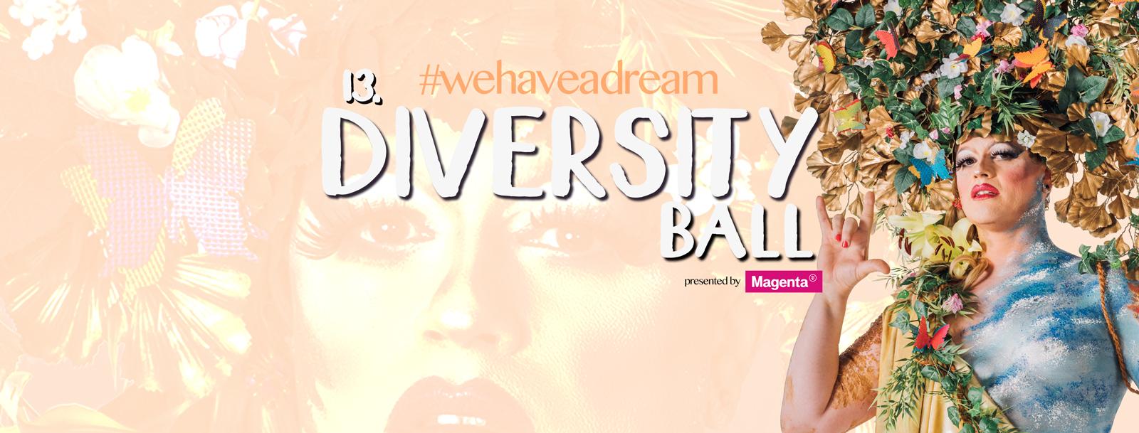 13. Diversity Ball am 9. May 2020 @ Kursalon.