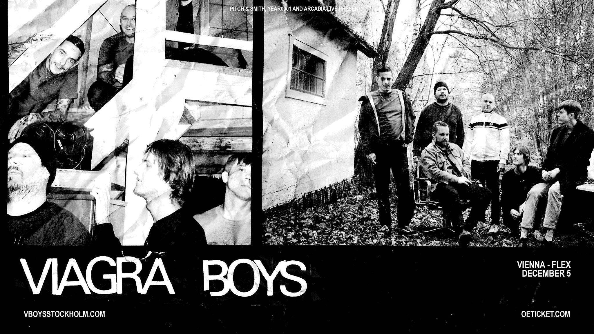 Viagra Boys am 26. March 2020 @ Fluc.