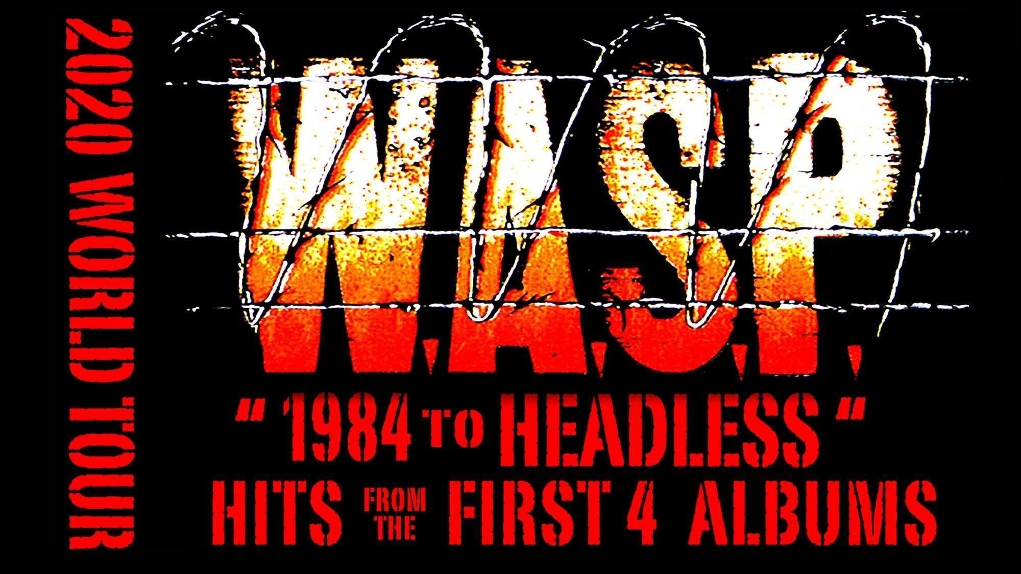 W.A.S.P am 8. November 2020 @ Arena Wien - Große Halle.