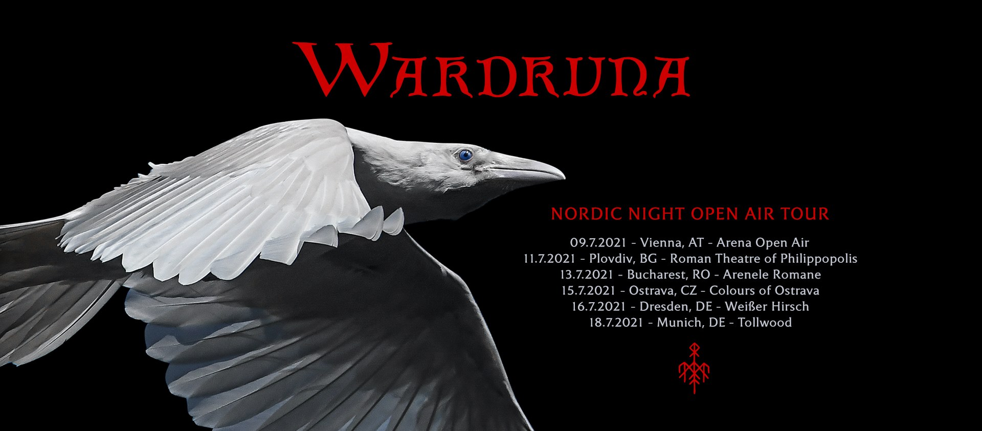 Wardruna am 9. July 2021 @ Arena Wien - Open Air.