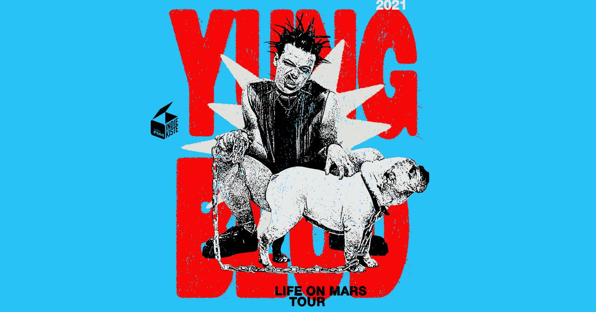 Yungblud am 5. November 2021 @ Planet.tt Bank Austria Halle im Gasometer.