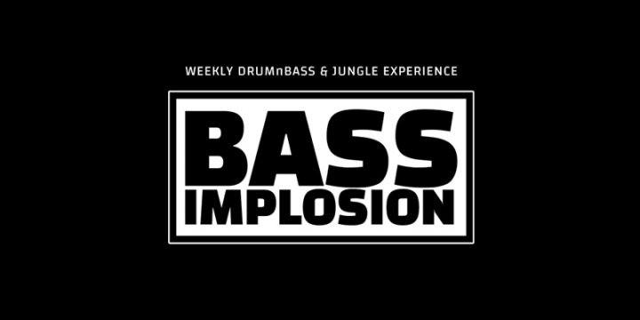 Bass Implosion am 7. August 2018 @ Weberknecht.