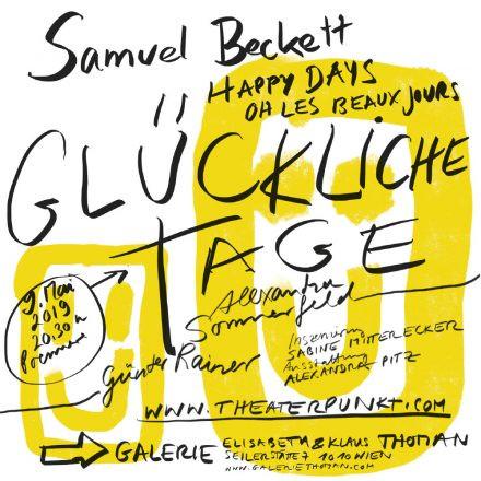Glückliche Tage - Samuel Beckett