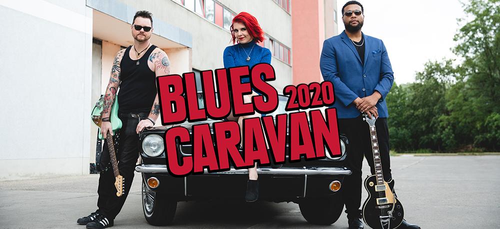Blues Caravan 2020 am 20. April 2020 @ Rockhouse Salzburg.