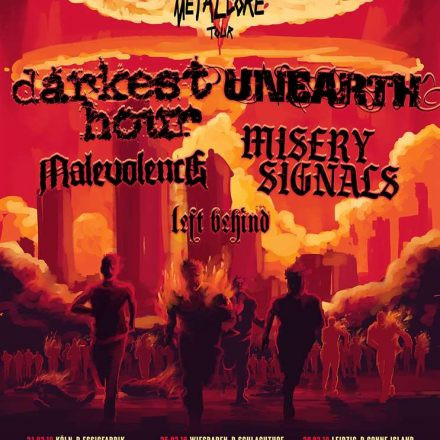Death To False Metal Core Tour
