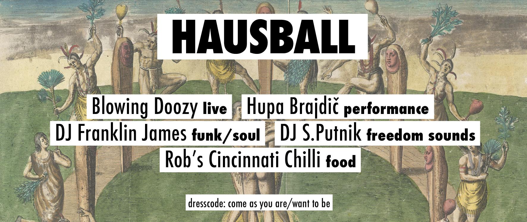 Hausball am 24. February 2020 @ Villa For Forest.