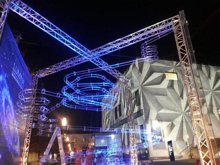 Lumina - die leuchtende Kugelbahn am 8. November 2018 @ Museumsquartier.