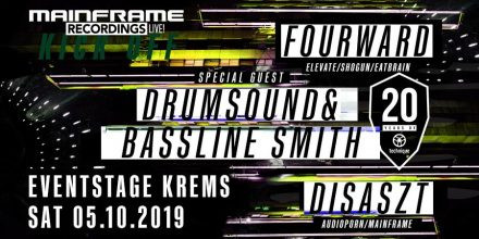 Mainframe Recordings Live - Drumsound & Bassline Smith