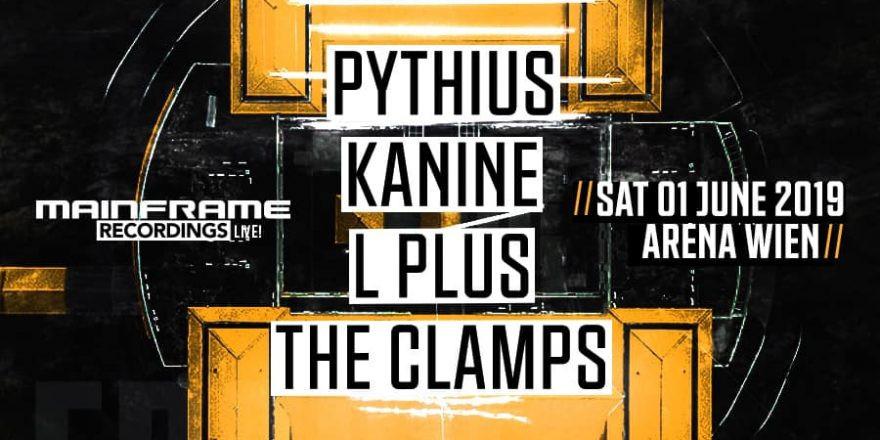 Mainframe Rec Live pres. Pythius, Kanine, L Plus, The Clamps